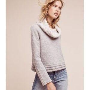 Anthro Sleeping on Snow Wool Meribel Sweater